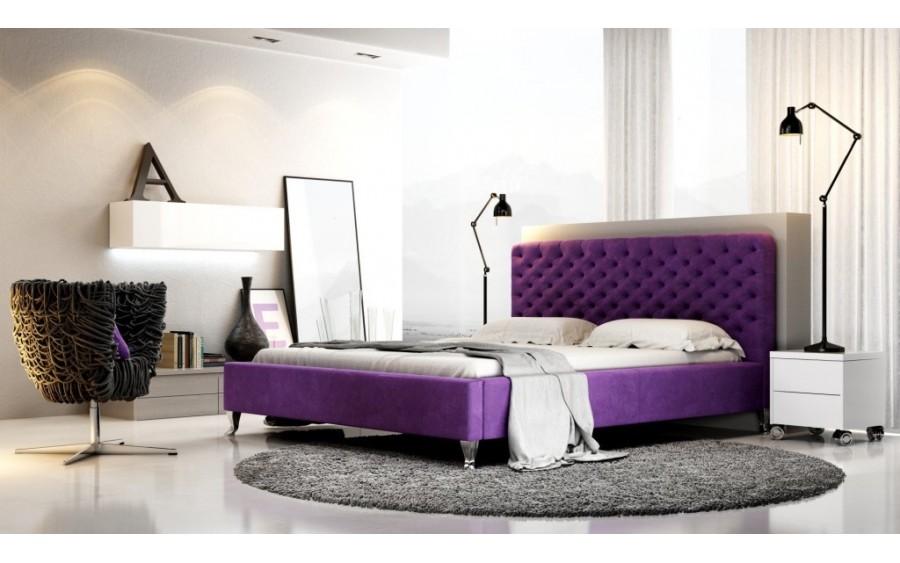 Lazio łóżko tapicerowane