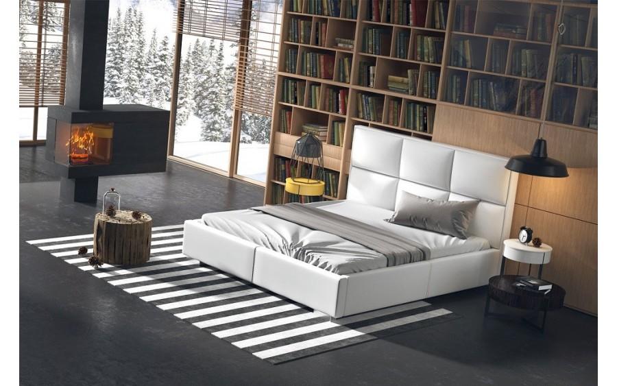 Quadro Plus łóżko tapicerowane