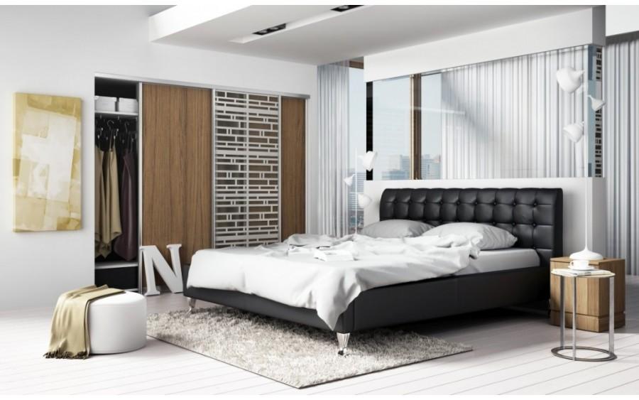 Madison Lux łóżko tapicerowane