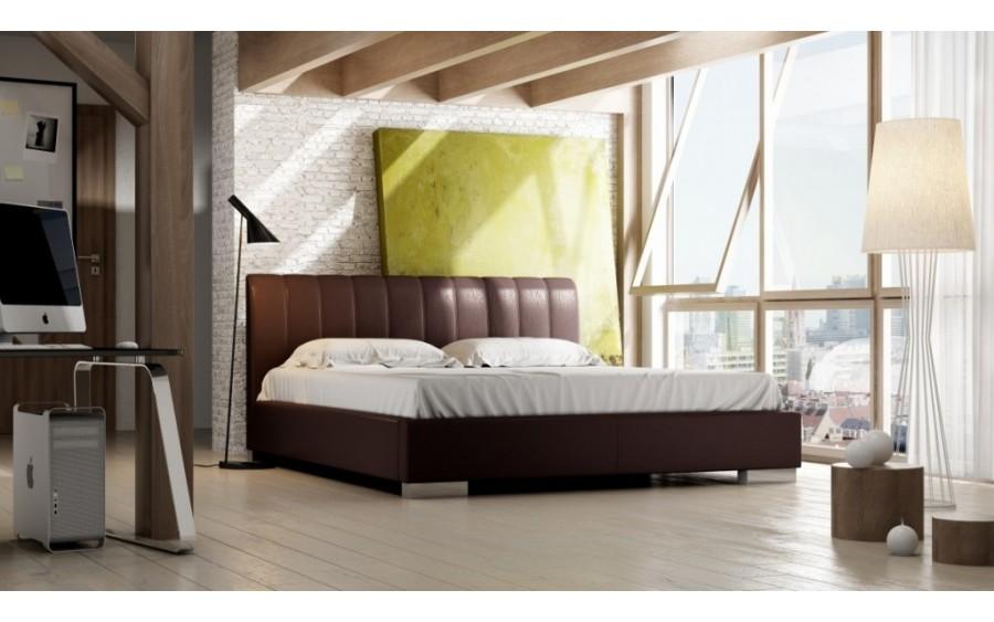 Naomi Lux łóżko tapicerowane