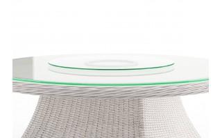 Szklany blat obrotowy na stolik Rondo