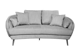 Sofa 2 Rafael (szara)