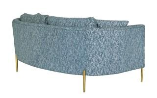 Sofa 2 Bernardo (niebieski)