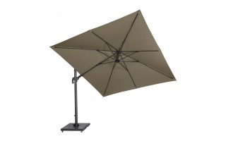 Parasol ogrodowy ​​​​​​Falcon T¹ 3mx2m (taupe)