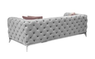 Sofa 3 Leonardo (szara)