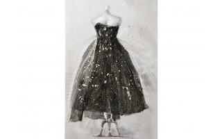 Obraz 80x120cm Suknia
