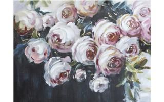 Obraz 120x90cm Kwiaty Różowe