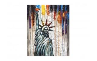 Obraz 100x120cm Statua wolności