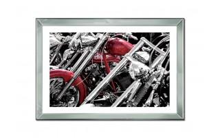 Obraz szklany 80x60 Część motoru