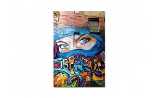 Obraz szklany 80x120 Graffiti