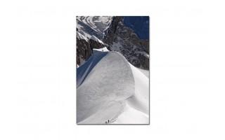 Obraz szklany 80x120 Śnieżny szlak