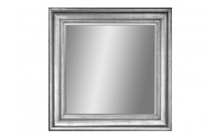 Lustro 100x100cm Antique Silver (280765)
