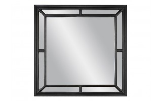 Lustro 100x100cm Country Black (280722)