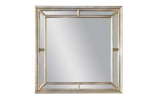 Lustro 100x100cm Country Silver (280721)