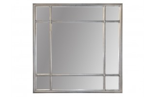 Lustro 100x100cm Antique Silver (280750)