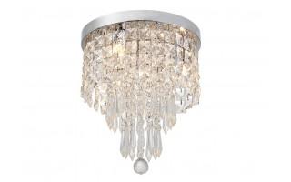 Lampa kryształowa wisząca 25 cm 18046