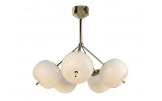 Lampa Jabłko MC5069-5 srebrna