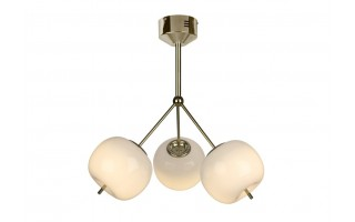 Lampa Jabłko MC5069-3GL złota