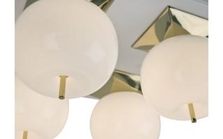 Lampa Jabłko MC5069-4GL złota