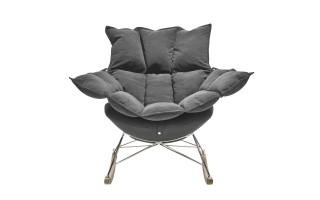 Fotel bujak HE325-2 jasny popiel