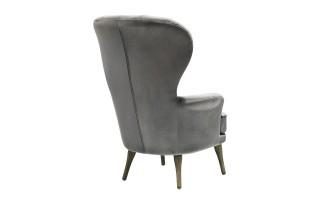 Fotel BFH399-3 szary/róż