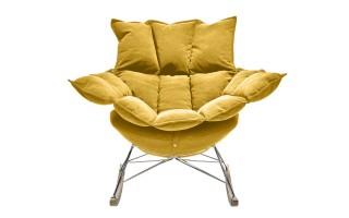 Fotel bujak HE325-2 żółty