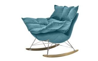 Fotel bujak HE325-2 niebieski