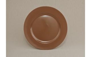 Talerz plastikowy ozdobny 33 cm