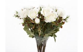 Róża biała 75cm