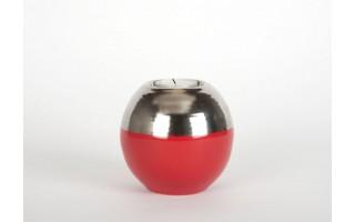 Świecznik 10cm - czerwony