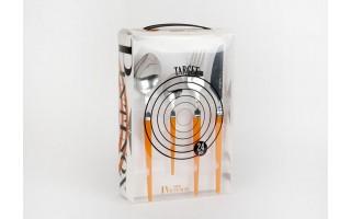 Sztućce 6/24 Pintinox Target - pomarańczowy