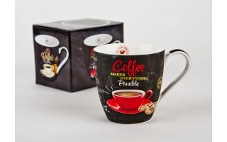 Kubek Coffee - red