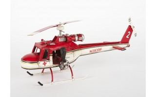 Model Helikoptera White Bell 1962