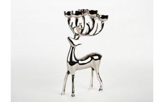 Świecznik jeleń 33cm