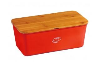 Pojemnik na chleb Kesper - czerwony