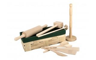 Zestaw drewniany 10 elementów