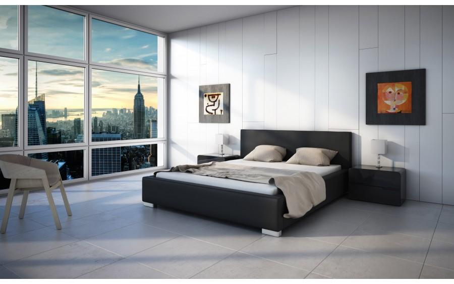 Concept I łóżko tapicerowane
