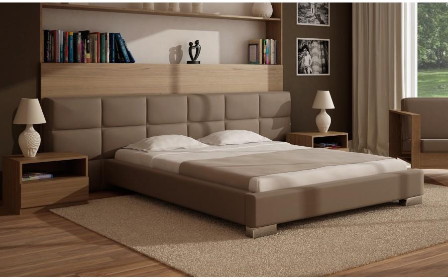 Concept V łóżko tapicerowane