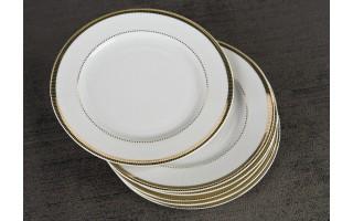 Kpl. 6 talerzy deserowych 17cm Marcello Gold