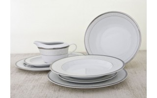 Serwis obiadowy 6/22 Grenada Silver