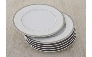 Kpl. 6 talerzy 20 cm Grenada Silver