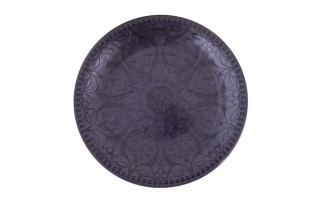 Talerz Tajmahal 35cm ciemny fiolet