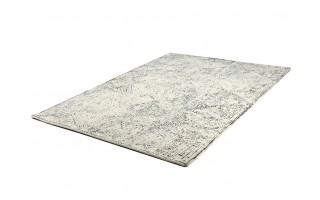 Dywan wełniany 160x230 Maze Blue/White