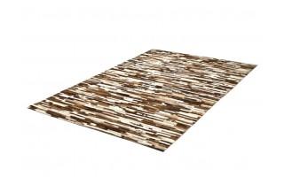 Dywan skóra 160x230 Tiago Ivory/Brown