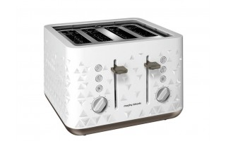 Toster Prism White 4 tosty Morphy Richards