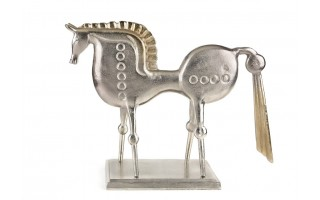 Rzeźba aluminiowa Koń