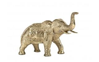 Ozdoba z mosiądzu Słoń