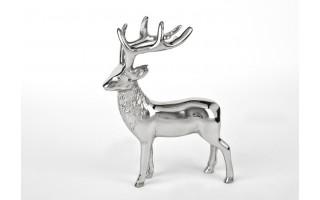 Ozdoba metalowa Figurka Jeleń 22cm