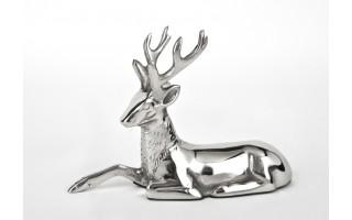 Ozdoba metalowa Figura Renifer