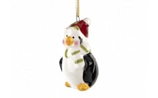 Ozdoba ceramiczna Pingwin